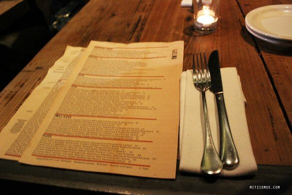 Los Angeles: Dinner at Gjelina – Abbot Kinney Blvd