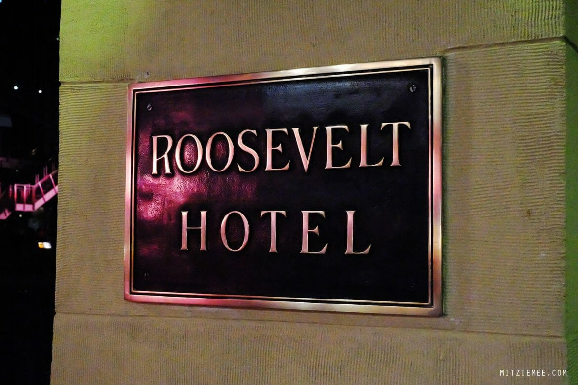 Library Bar at Roosevelt Hotel, Los Angeles