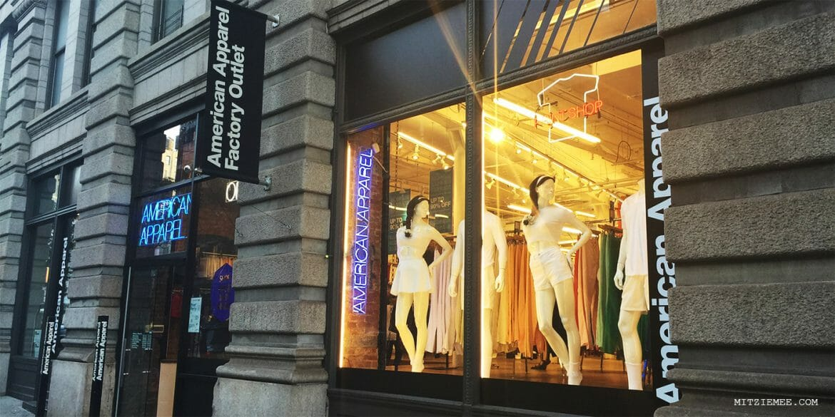 American Apparel Factory Outlet - New York