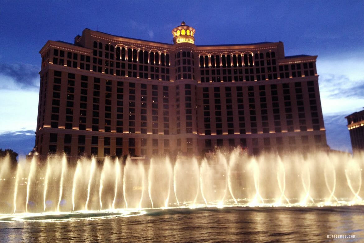 Dancing Fountains at Bellagio, Las Vegas