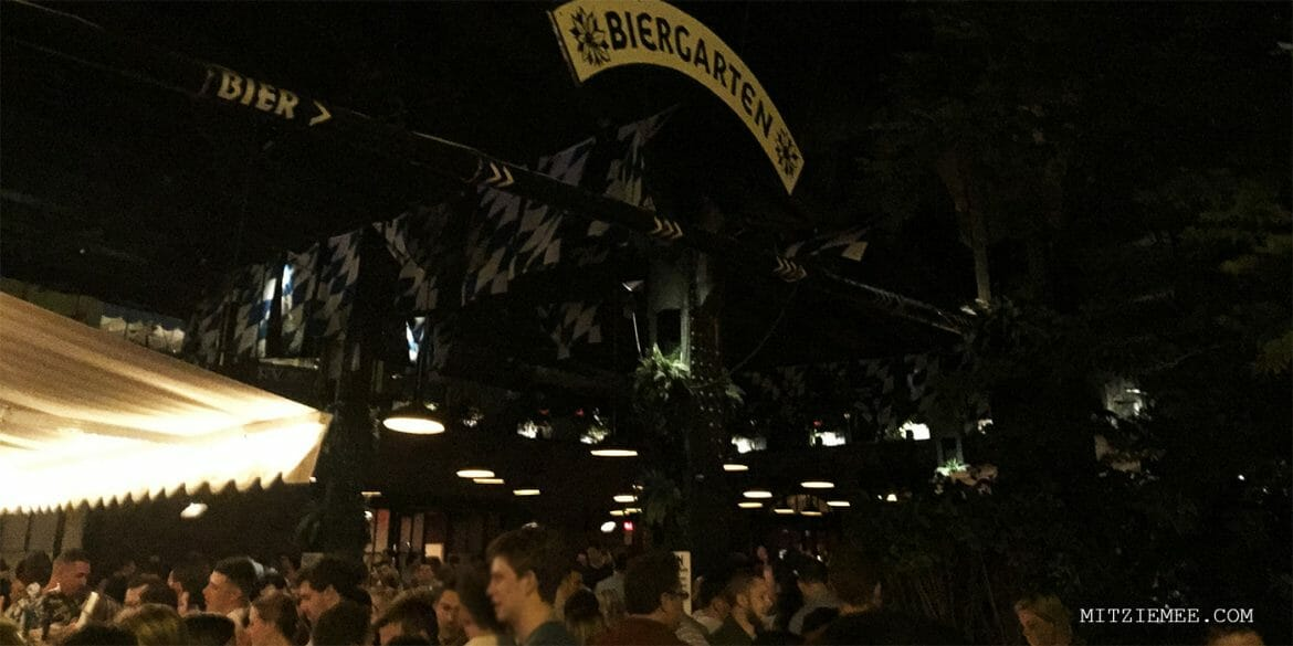 Biergarten at The Standard, New York