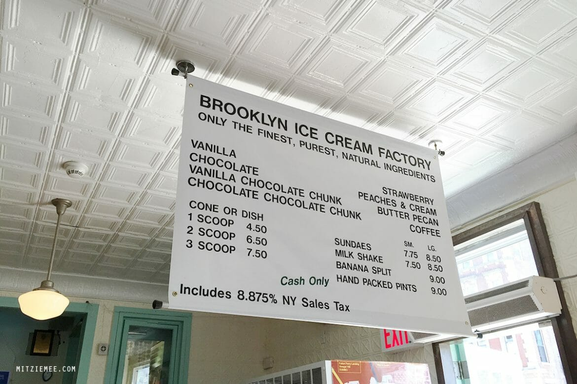 Brooklyn Ice Cream Factory, New York