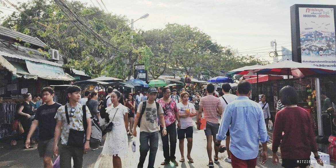 Chatuchak Weekend Market - bangkok