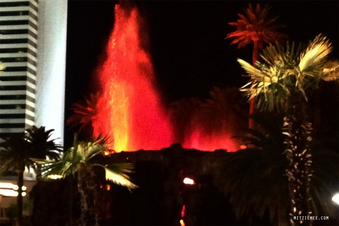 The Volcano at The Mirage - Las Vegas