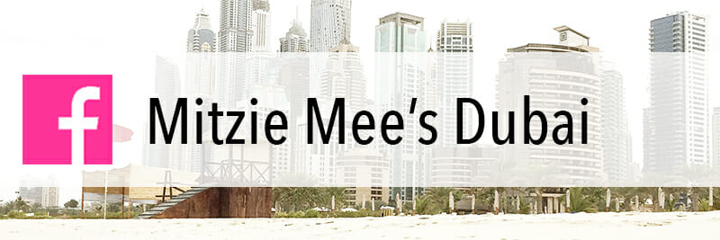 Mitzie Mee's Dubai on Facebook