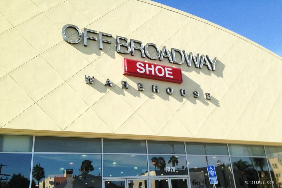 Off Broadway Shoes, Los Angeles Shopping