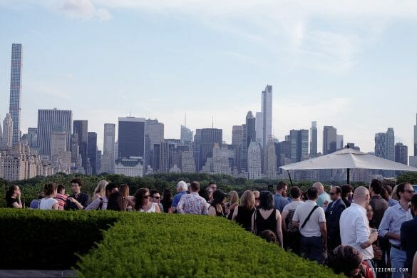 Roof Garden Cafe at The Met, New York