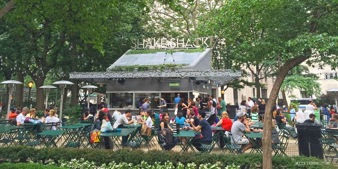 Shake Shack, Madison Square Park, New York
