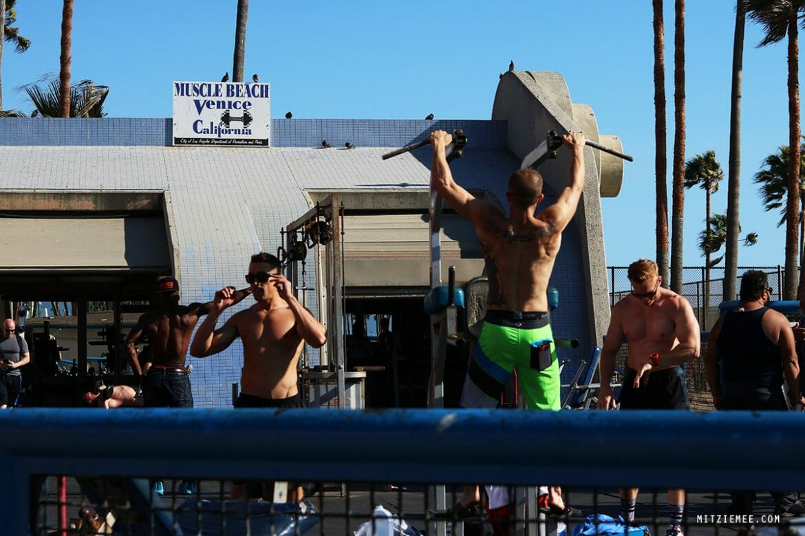 Muscle Beach, Venice Beach, Los Angeles