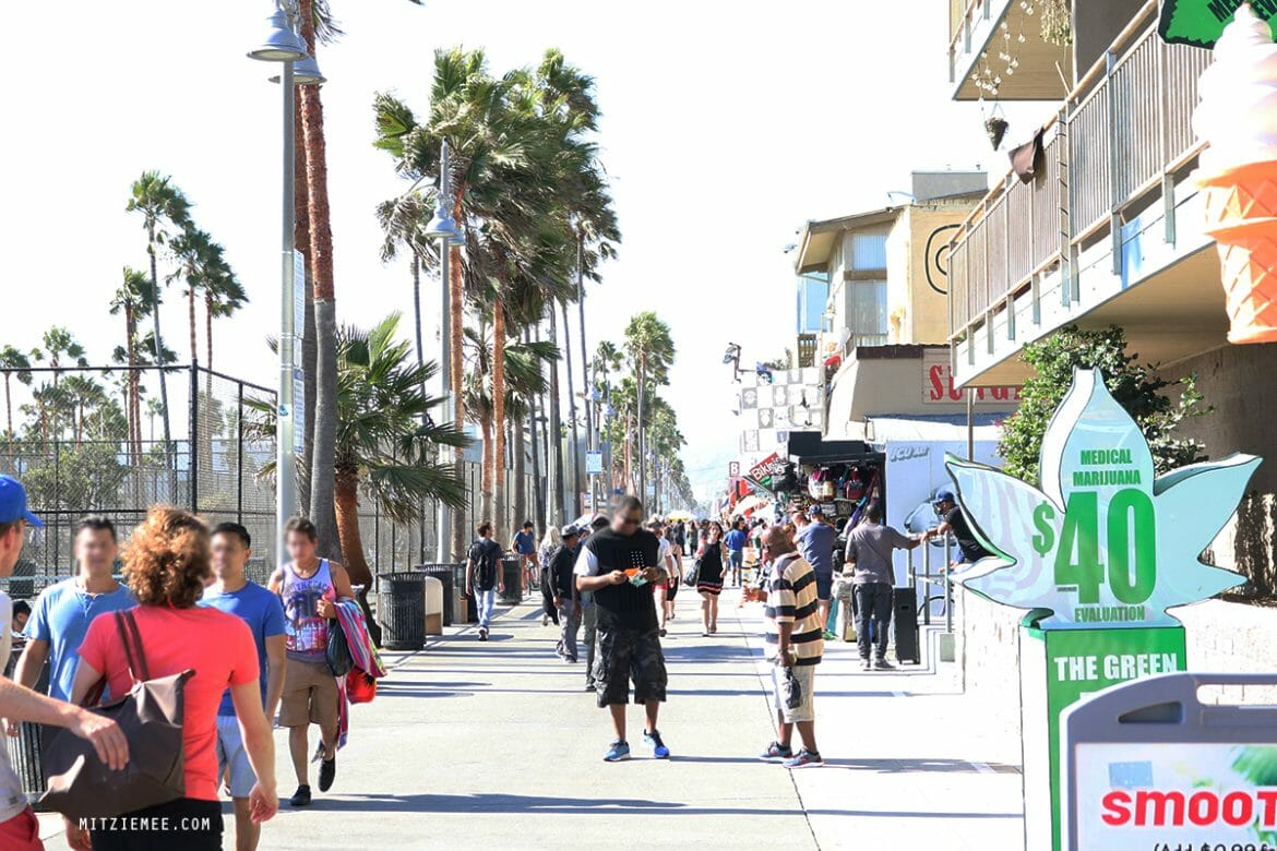 Venice Beach i Los Angeles