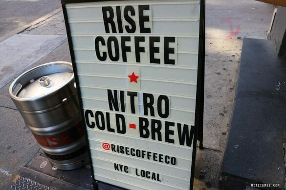 Rise Coffee, Lower East Side, New York