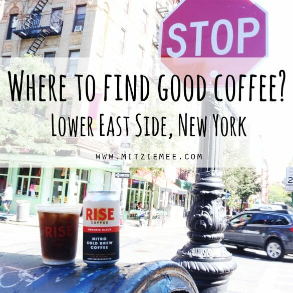 Where to find good coffee in New York