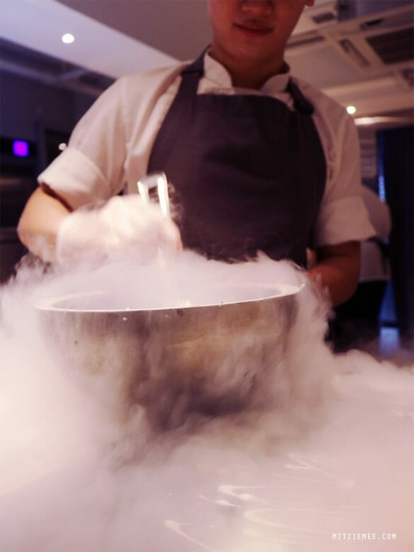 Improvisation at Atum, dessert restaurant Hong Kong