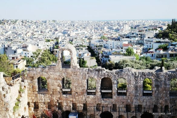 Athens: Acropolis on a sunny afternoon