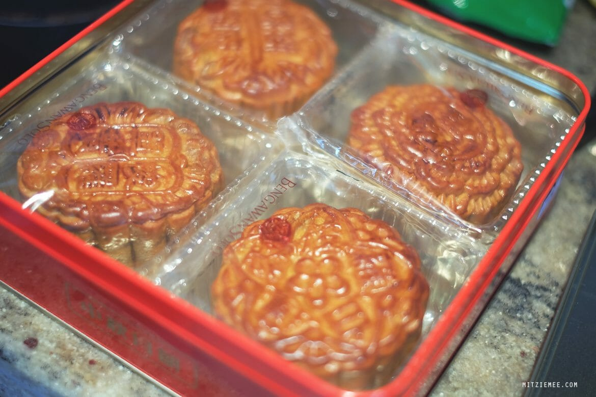 Bengawan Solo, mooncakes in Singapore