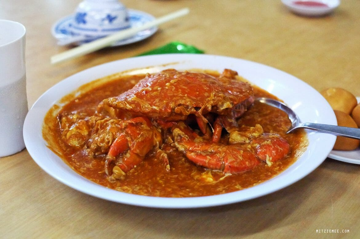No Signboard, Chilli crab in Singapore