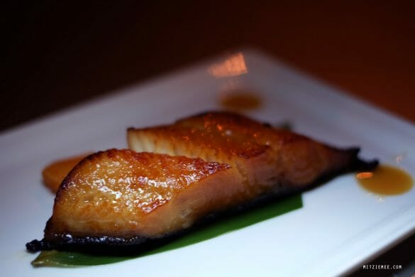Miso black cod at Nobu, Dubai