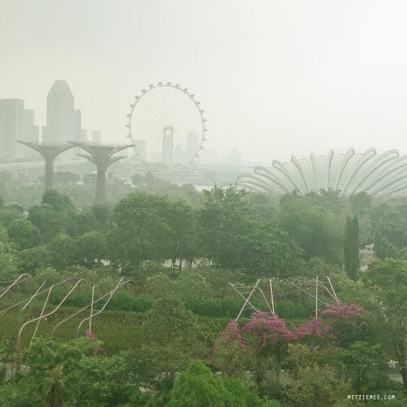 OCBC Skyway og Gardens by the Bay Singapore
