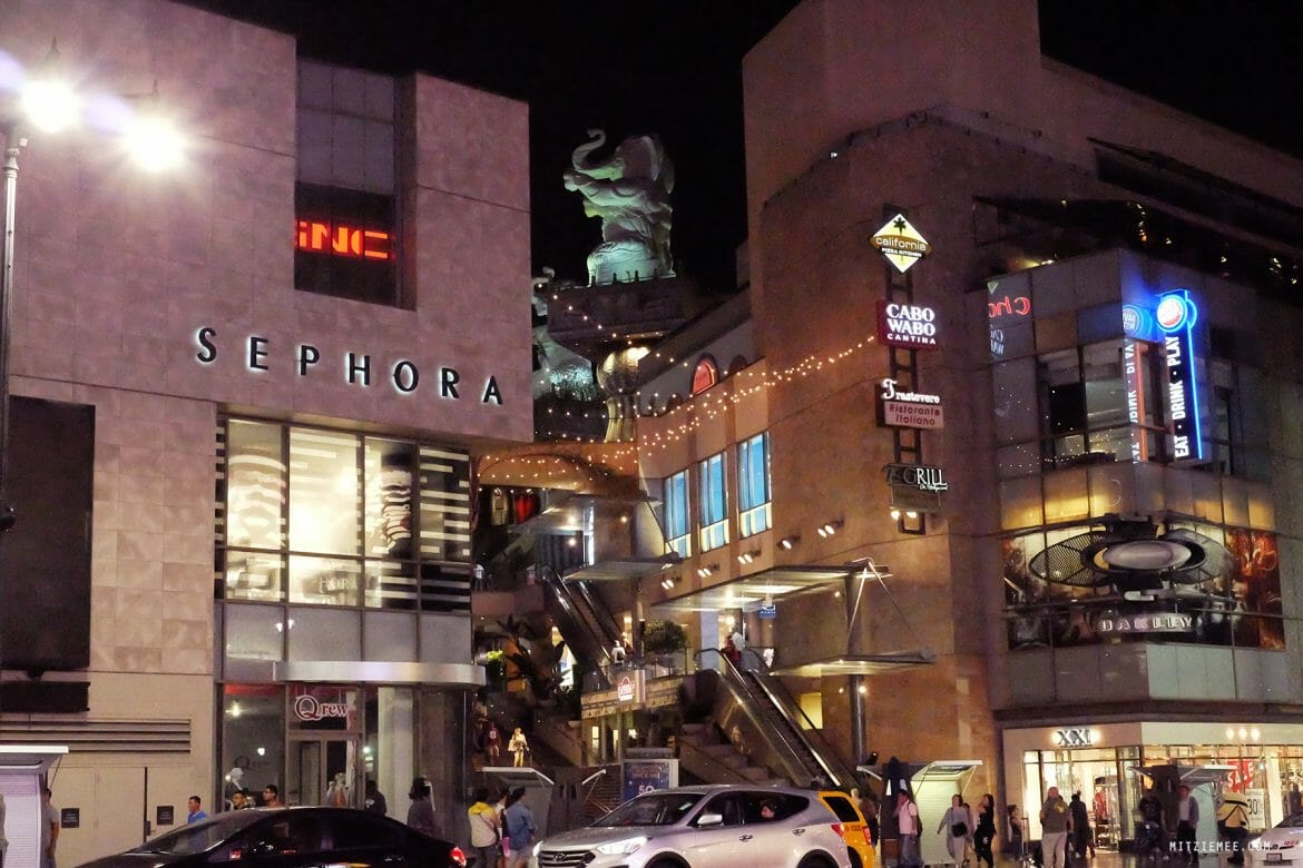 Sephora, Hollywood & Highland, Los Angeles