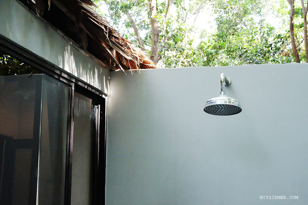 The shower, Koh Yao Yai Village