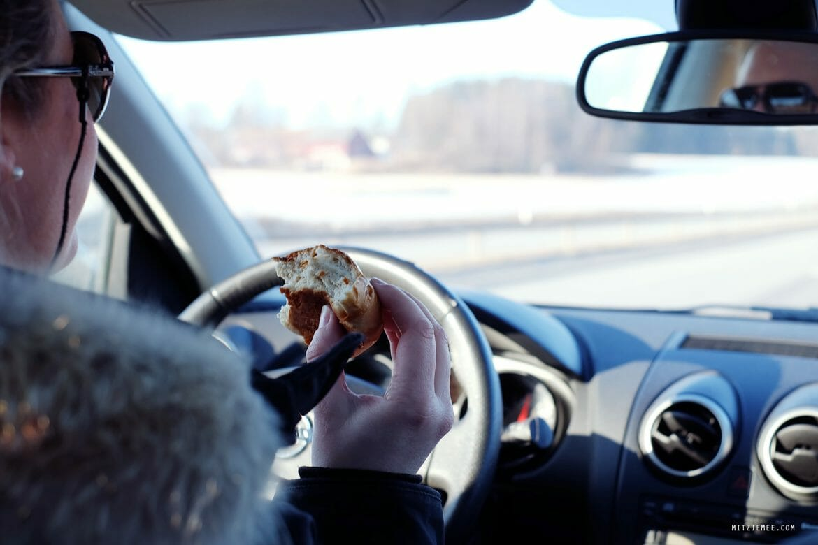 Driving to Trysil, road trip and Espa Boller