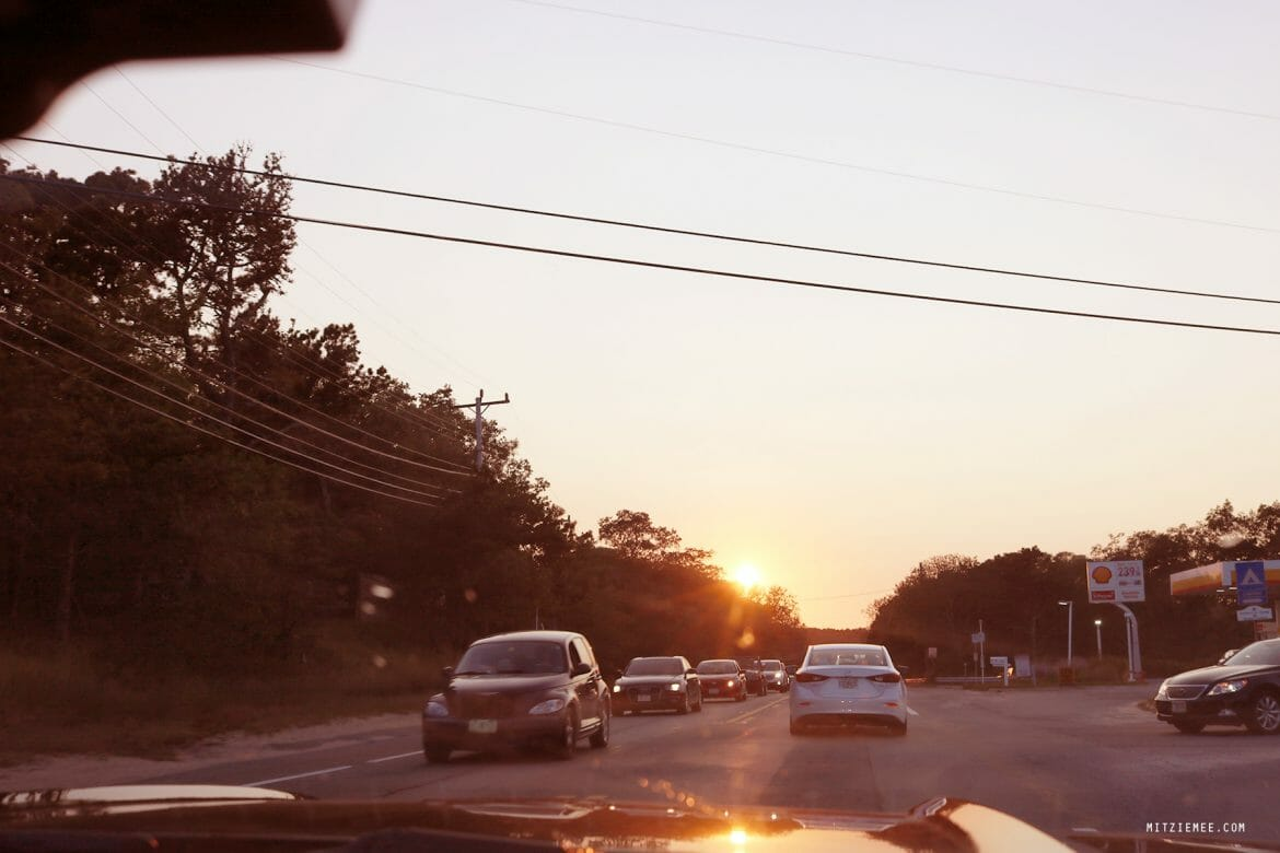 Driving to Cape Cod