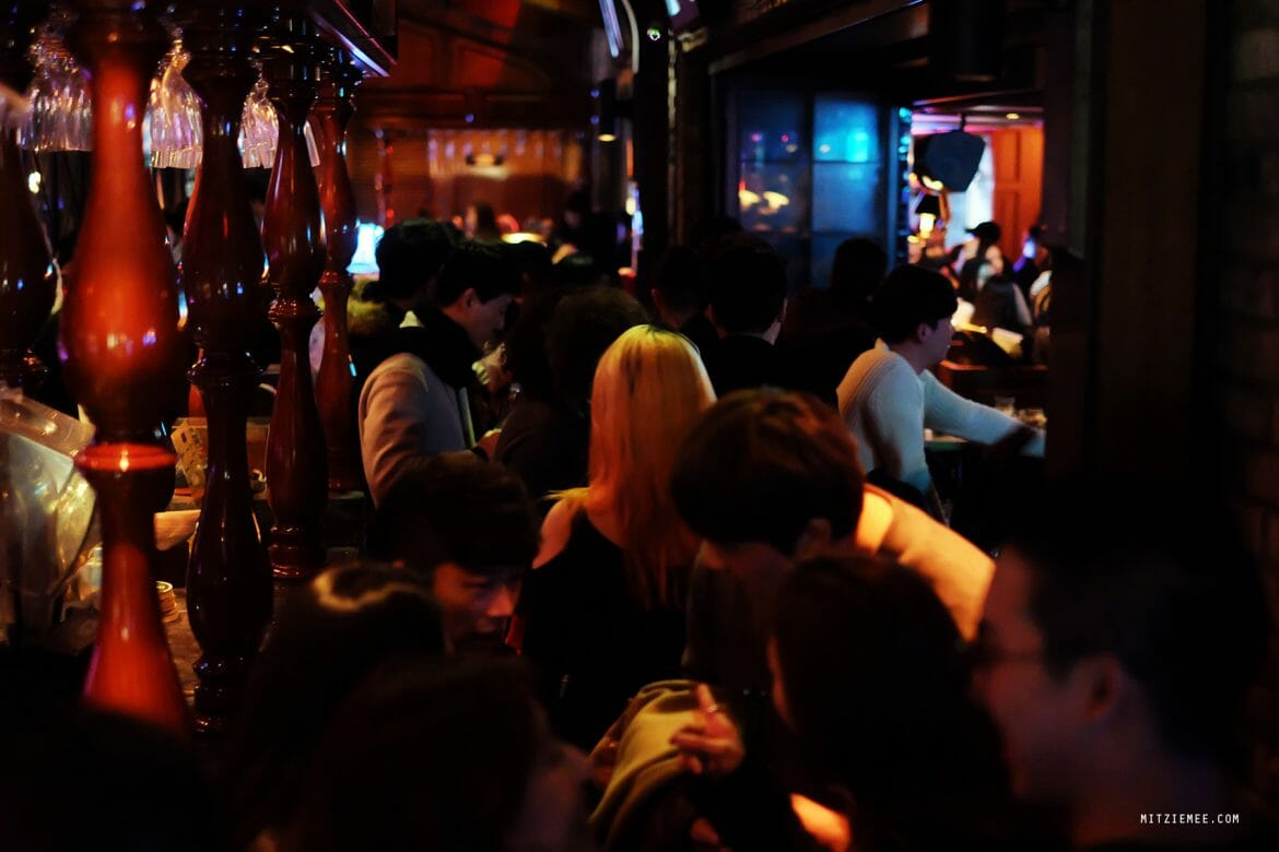 Nightlife in Itaewon, Seoul