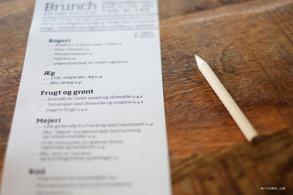 Wulff & Konstali, brunch in Copenhagen
