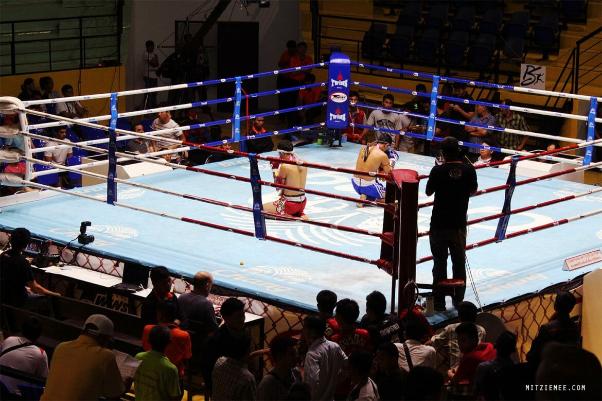 Muay Thai at Lumpinee Stadium, Bangkok