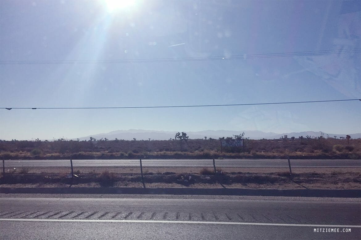 Road trip LA to Las Vegas