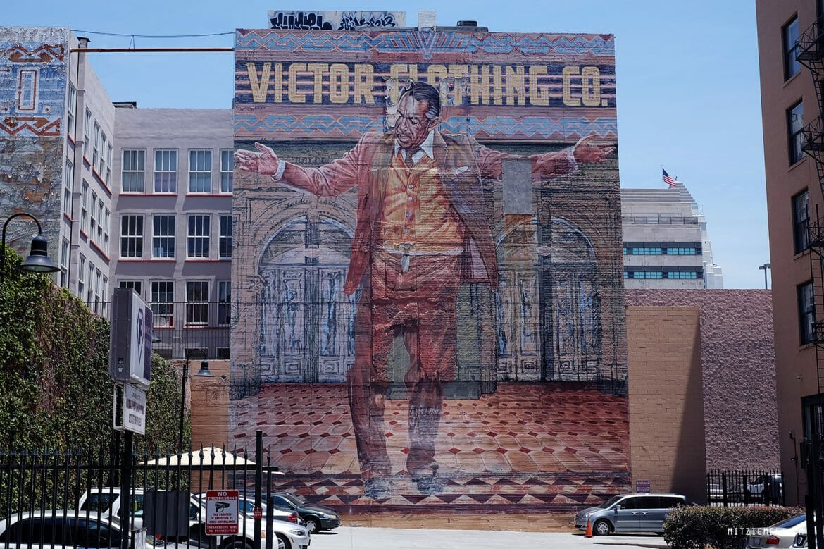 Victor Clothing mural, Los Angeles
