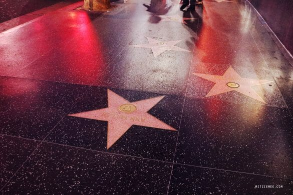 Walk of Fame, Hollywood Boulevard, Los Angeles
