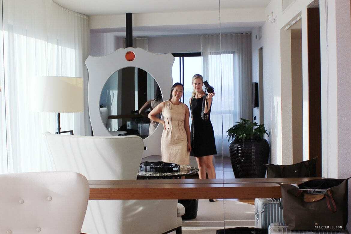 Corner suite at Mondrian, Los Angeles