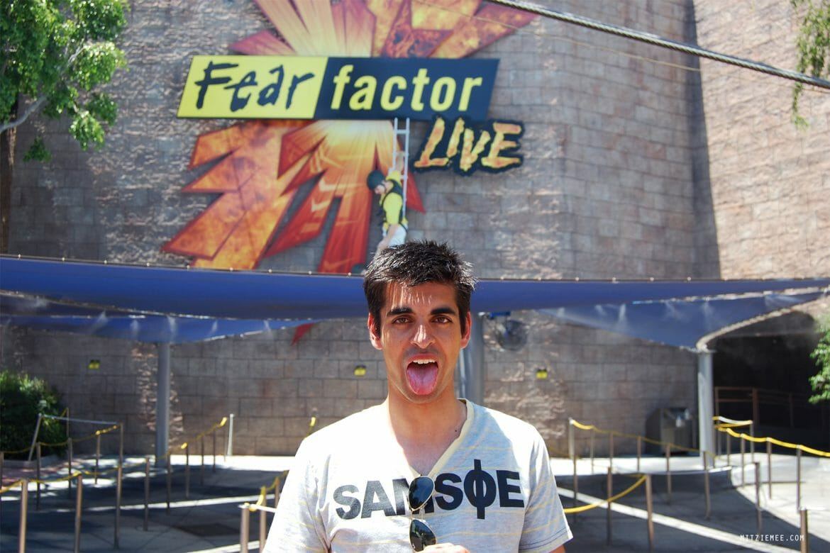 Fear Factor Live, Universal Studios, Los Angeles