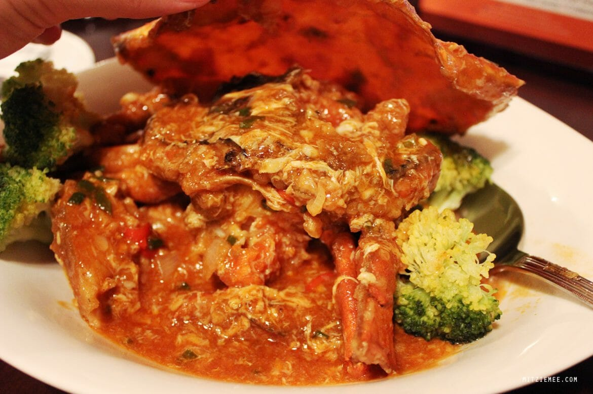 Singaporean Chilli Crab, Chimes, Dubai