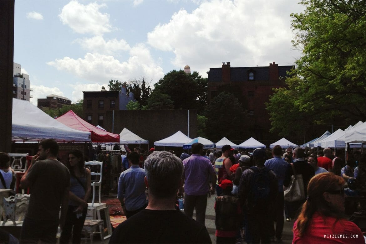 Fort Greene Flea i Brooklyn