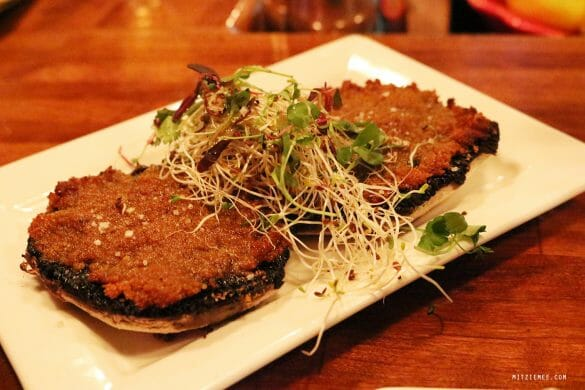 Baked Portobello at Excuse My French, Lower East Side, New York