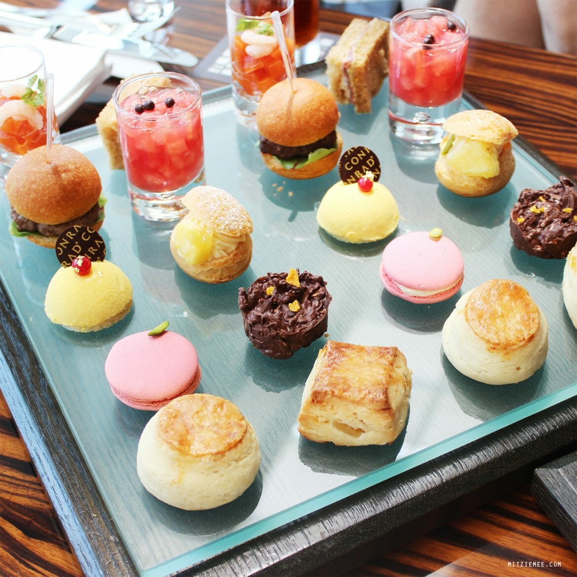 Afternoon tea at Twenty Eight at Conrad, Tokyo