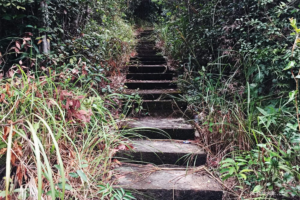 Hiking in Sai Kung East Country Park, Hong Kong