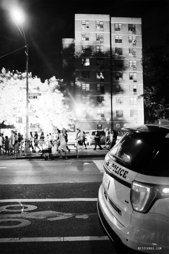 4th of July fireworks, New York City