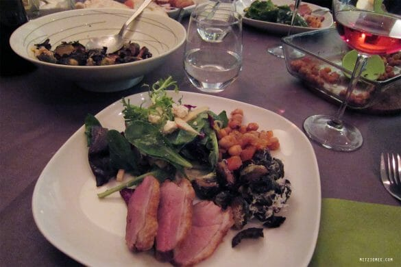 NYC: Friday night in Brooklyn – Dinner and a Private Party