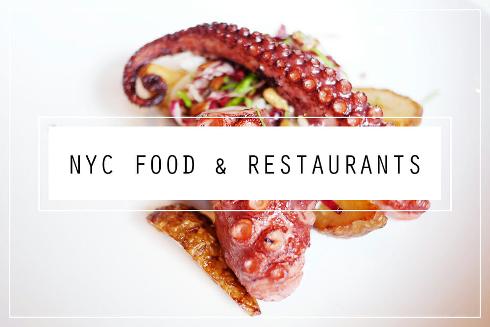 New York food and restaurants blog