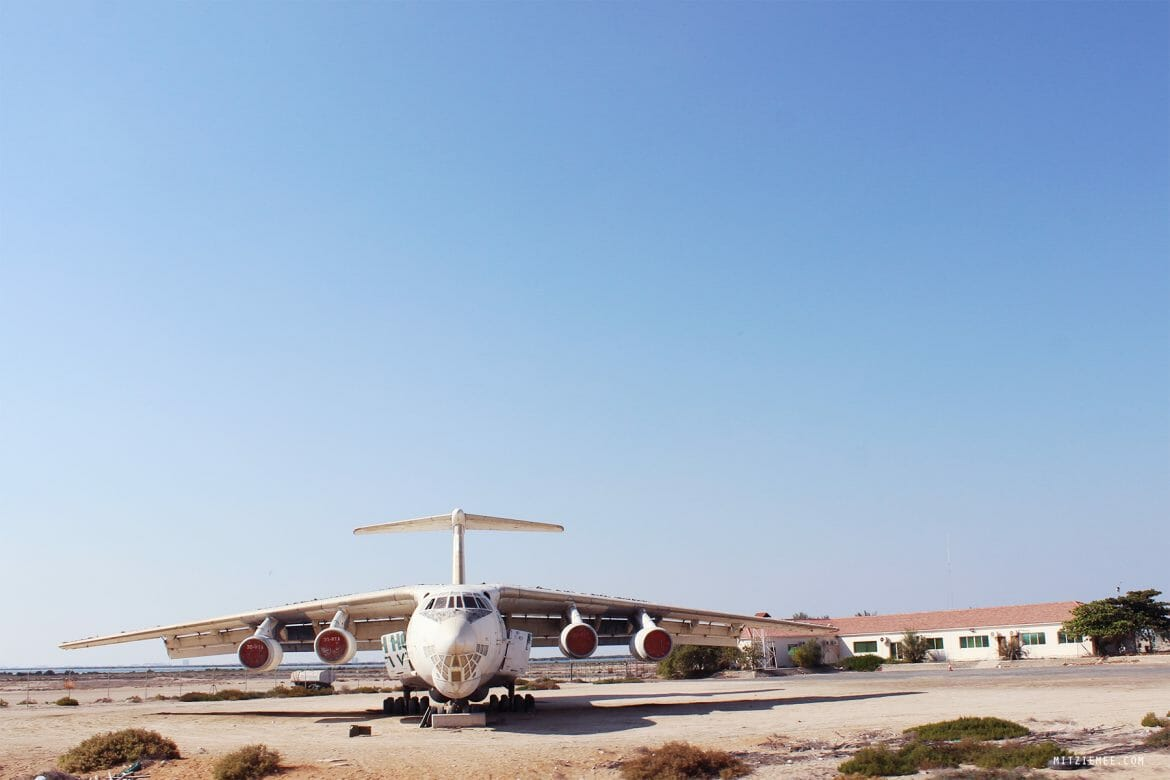airplane at Umm Al Quwain