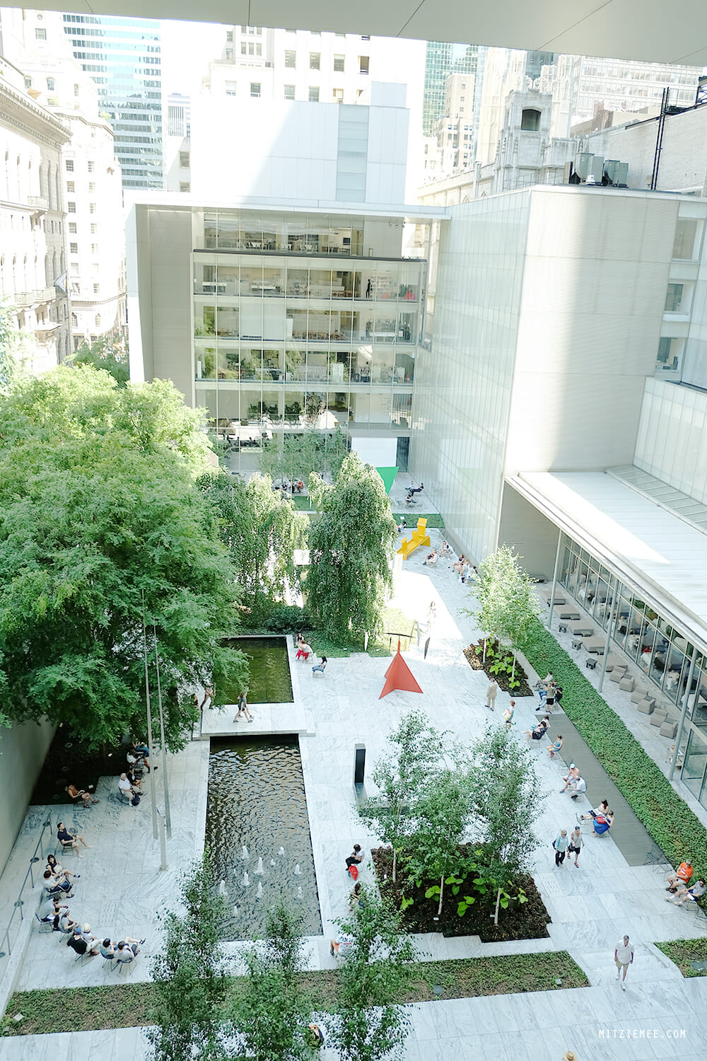 The Sculpture Garden at MoMA, New York