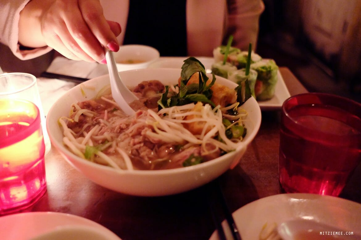 Pho Beef Deluxe at An Choi, Vietnamese restaurant, New York City