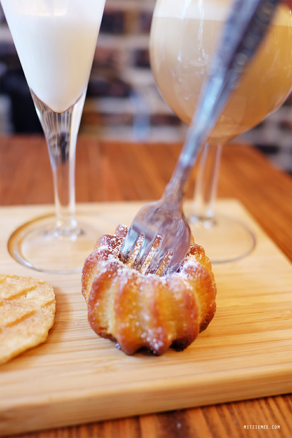 Canelé at Coffee Project, New York