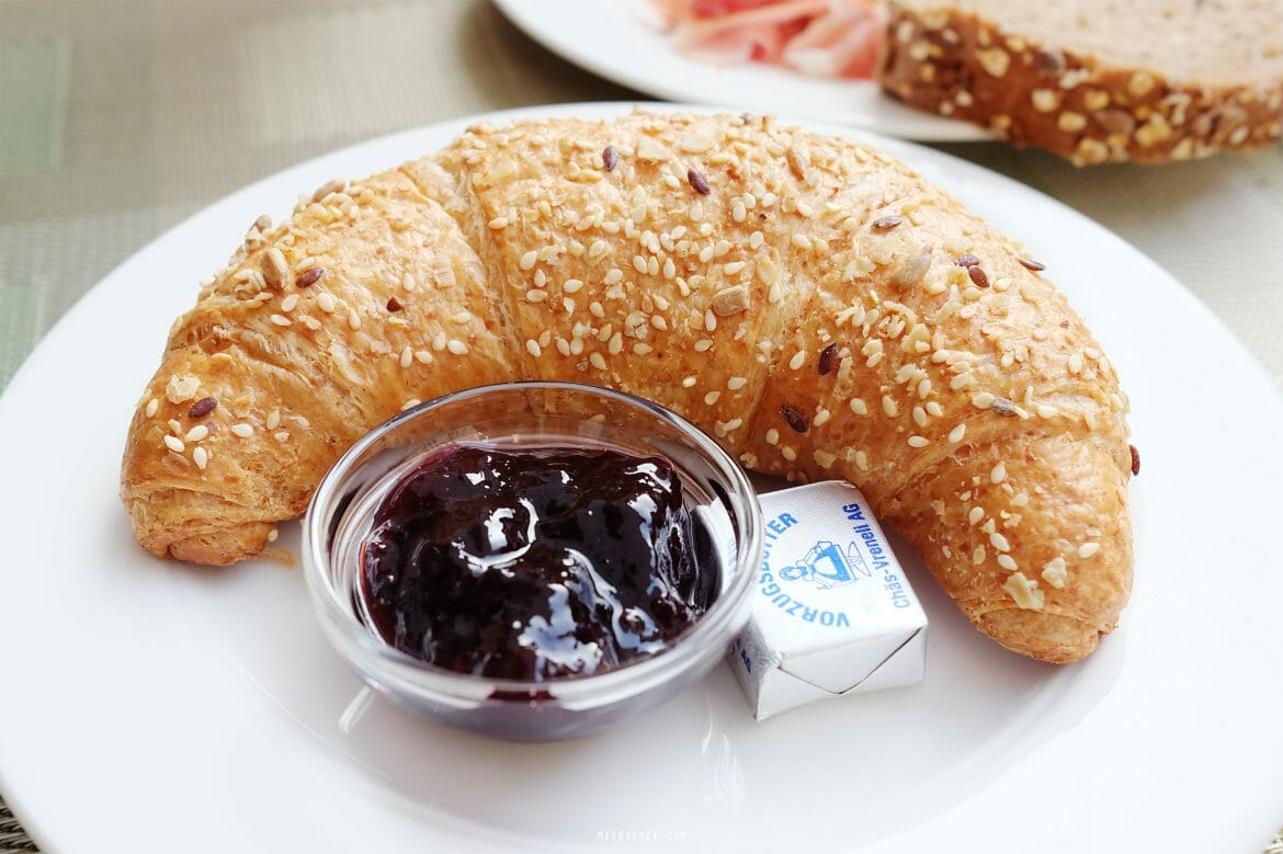 Gipfeli with jam - What to eat in Zurich?