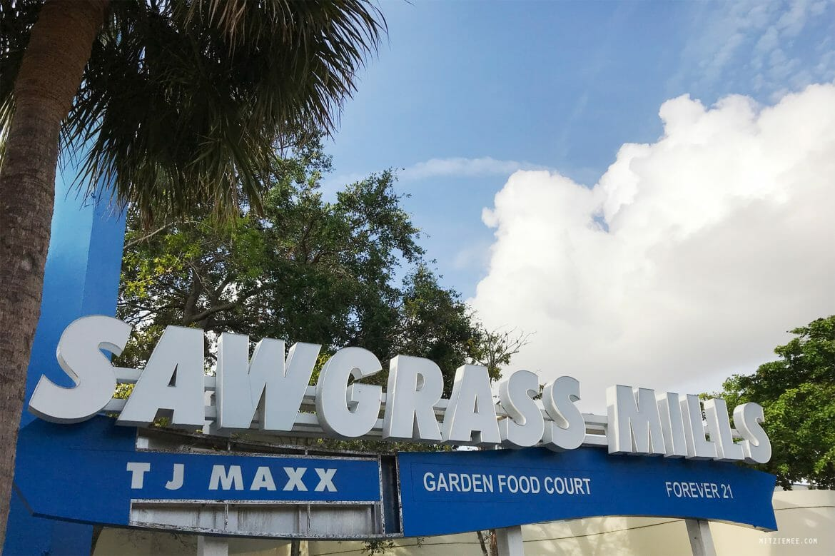 Sawgrass Mills, outlet shopping, Florida