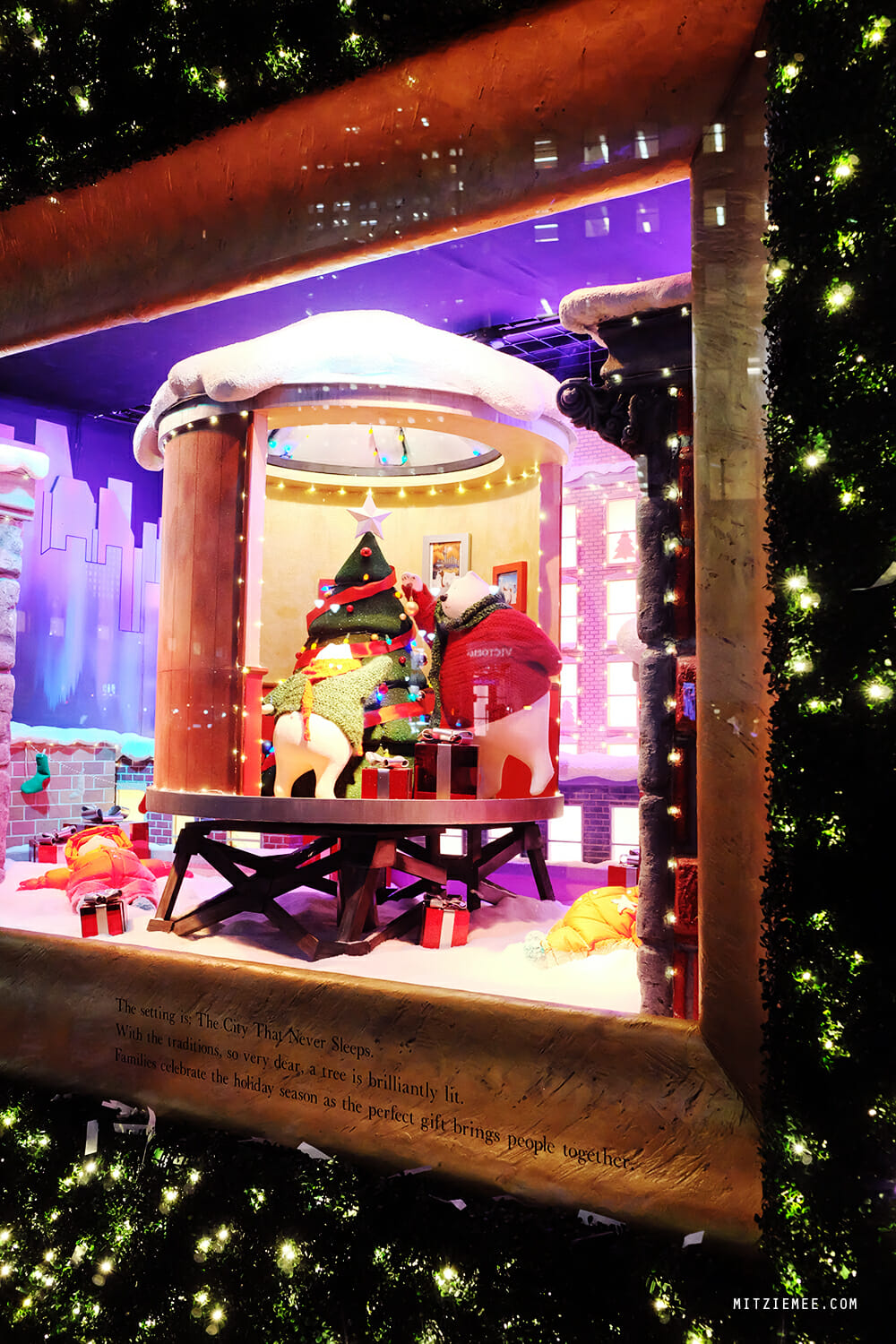 The Christmas windows at Macy's, Herald Square, New York City