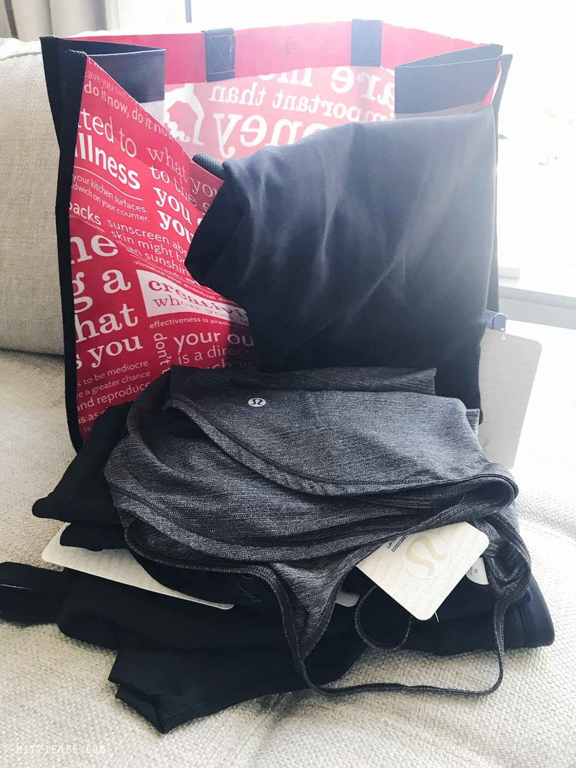 Lululemon yoga clothes